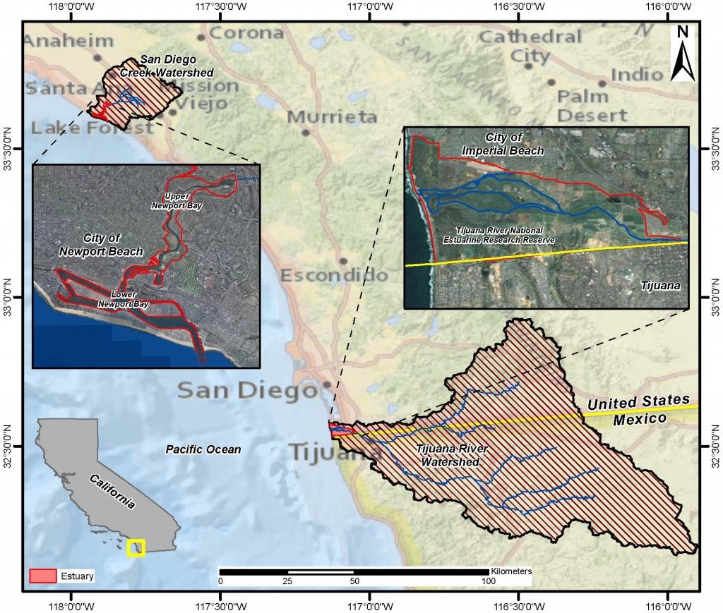 Newport and Tijuana Site Orientation Map