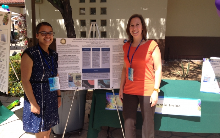 Graduate Students Give Presentation About Flood Resilient Communities
