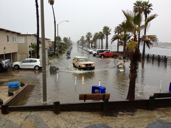 King Tides Initiative Crosses the Border